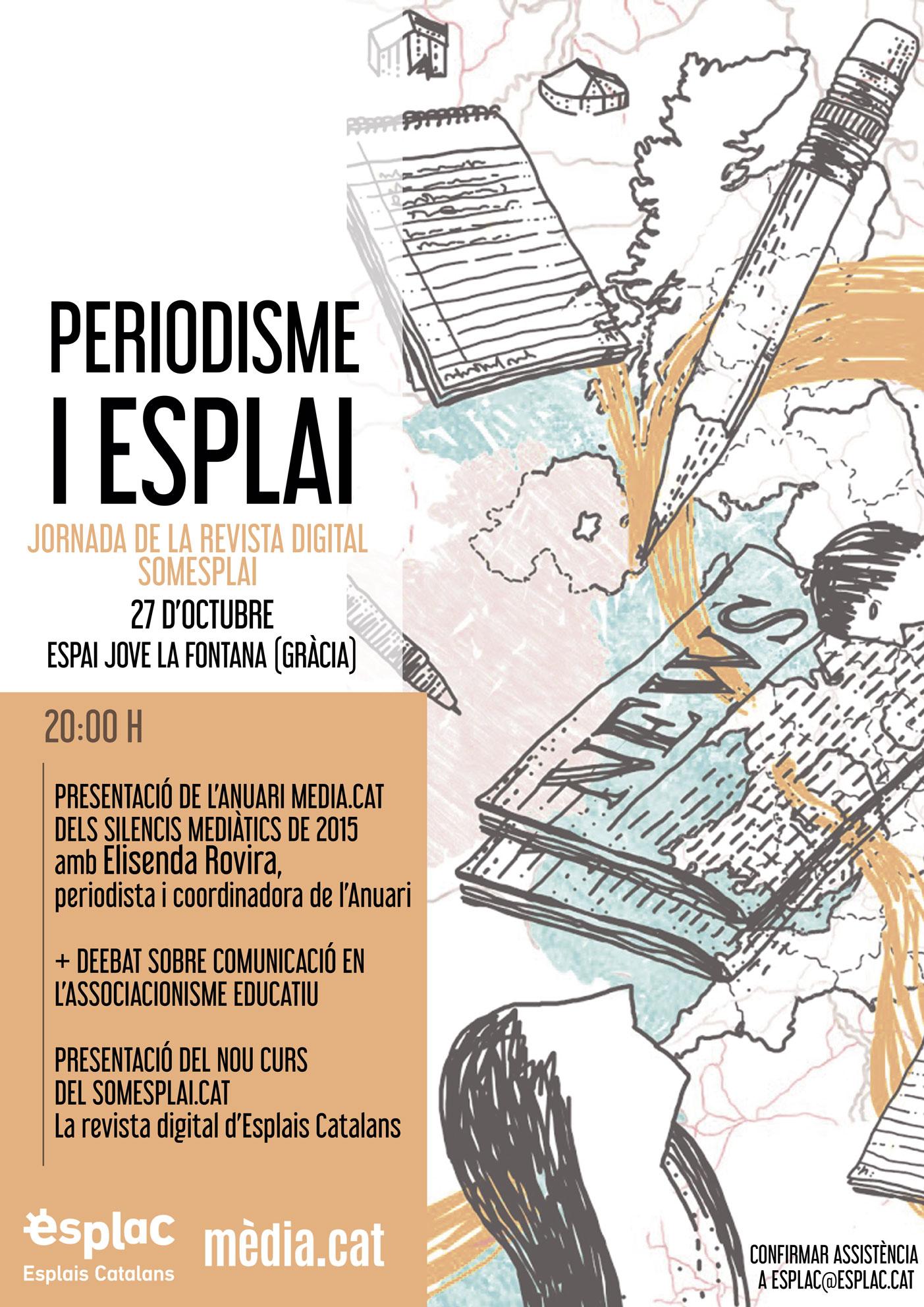 Presentació Anuari dels silencis mediàtics @ Espai Jove La Fontana