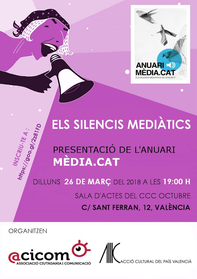 Presentació de l'Anuari Mèdia.cat @ Octubre CCC | València | Comunidad Valenciana | Espanya