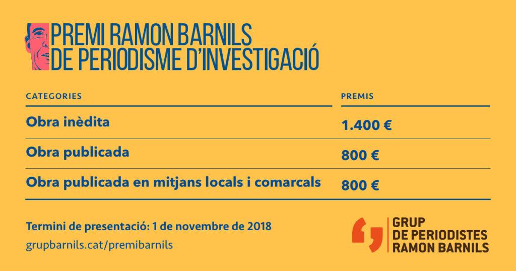 Premi Barnils 2018